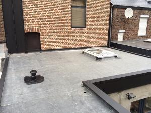 Toiture plate en epdm namur avantages sur les toits for Prix epdm firestone