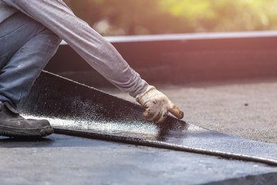 Isolation ext rieure de toitures plates en province de namur for Isolation toiture plate